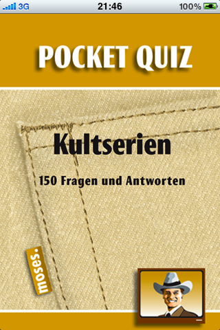 Screenshot Pocket Quiz: Kultserien